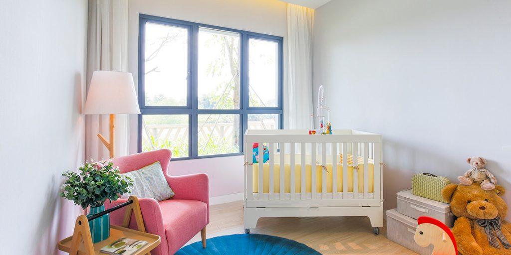 Phòng ngủ Master Palm Height ấm áp và rộng rãi. Không gian thiết kế được tận dụng tối đa giúp Palm City đẹp hơn.