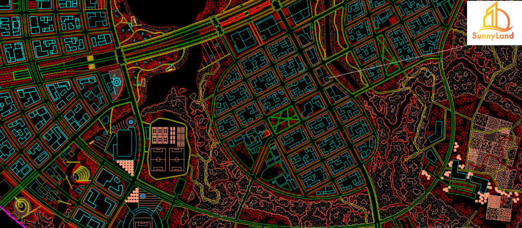 Vị trí công ty BĐS SunnyLand trên Bản đồ quy hoạch Thủ Thiêm - Quận 2, TP.HCM
