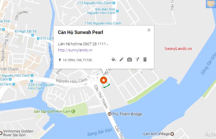 Vị Trí Căn Hộ Sunwah Pearl