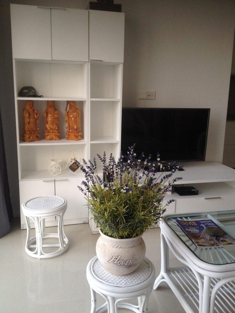 Phòng khách căn hộ tầng 6 - Sarimi khu đô thị Sala