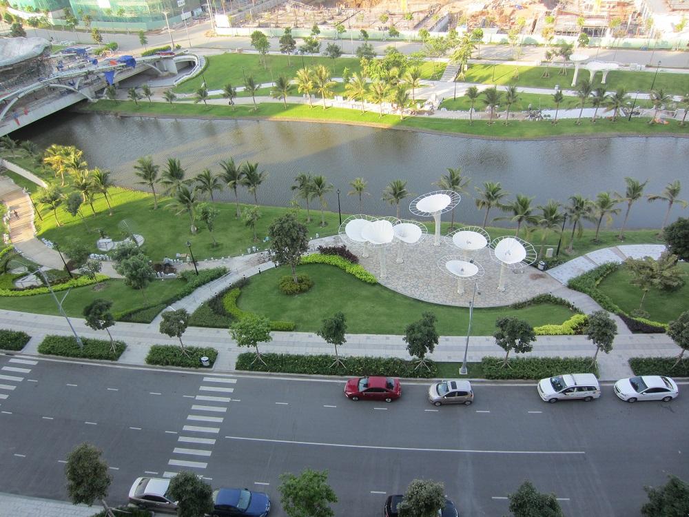 View công viên khu đô thị Sala Đại Quang Minh