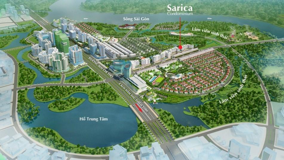 Khu đô Thị Sala: Sadora, Sarimi, Sarina, Sarica, nhà phố Saritown, shophouse, biệt thự Saroma