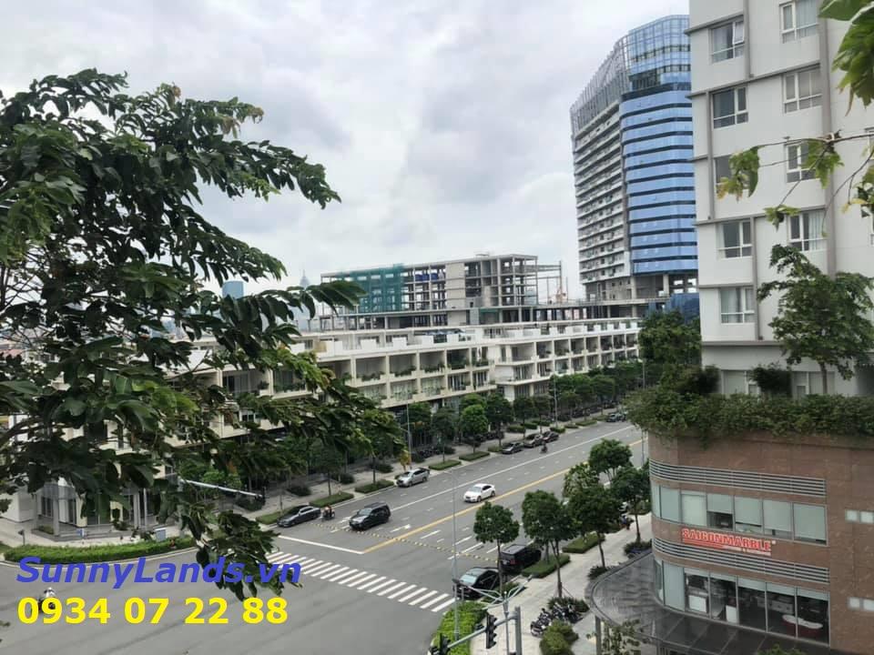 View ngoài căn góc 3Pn Sarimi khu đô thị Sala