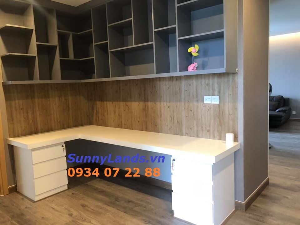 Không gian phòng học tập, làm việc căn hộ Sarimi 3PN