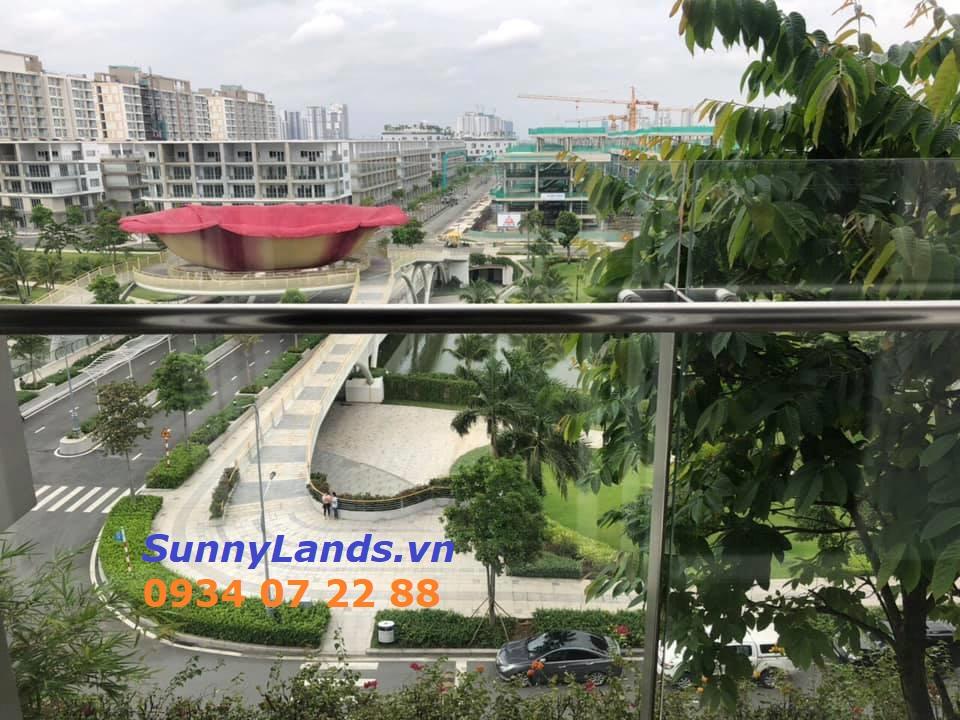 View công viên Sala của căn hộ Sarimi 3PN