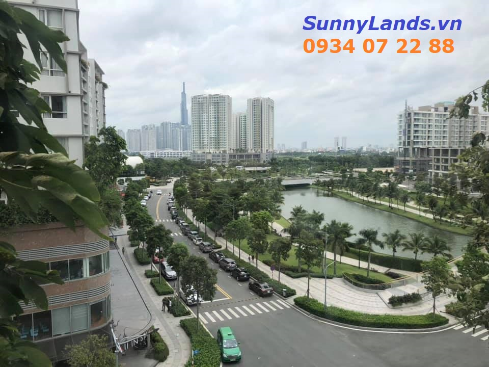 View căn hộ Sarimi 3PN khu đô thị Sala