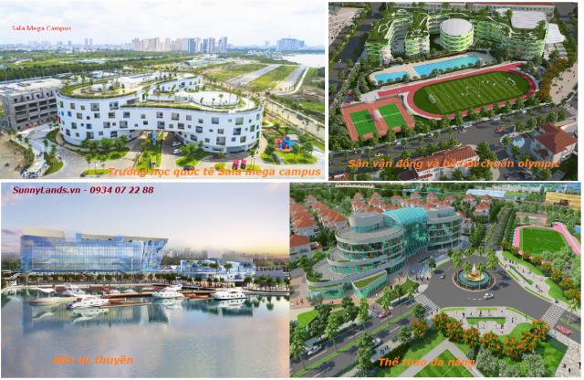 tiện ích khu đô thị sala Đại Quang Minh quận 2