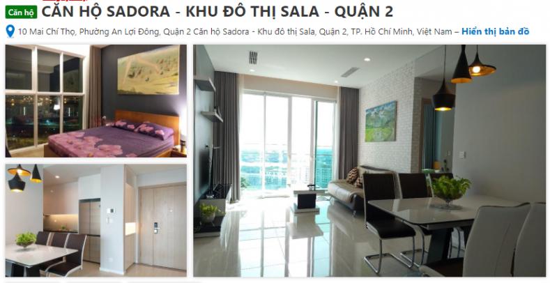 booking căn hộ Sadora Sarimi Sarica Sarina Sala