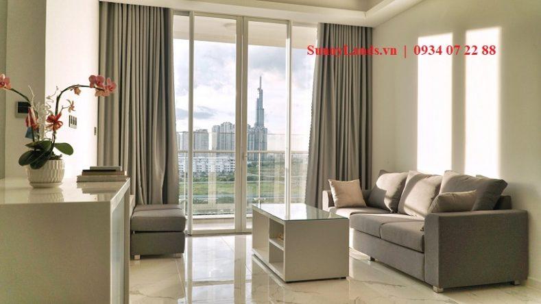 phòng khách căn hộ Sarina Sala Quận 2