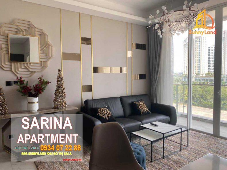 Phòng khách Căn hộ Sarina Apartment