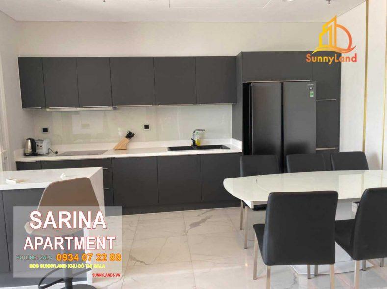 Nhà bếp Căn hộ Sarina Apartment