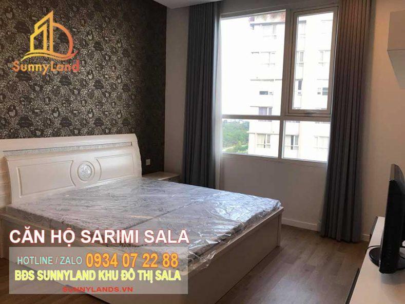 Phòng ngủ căn hộ Sarimi Sala