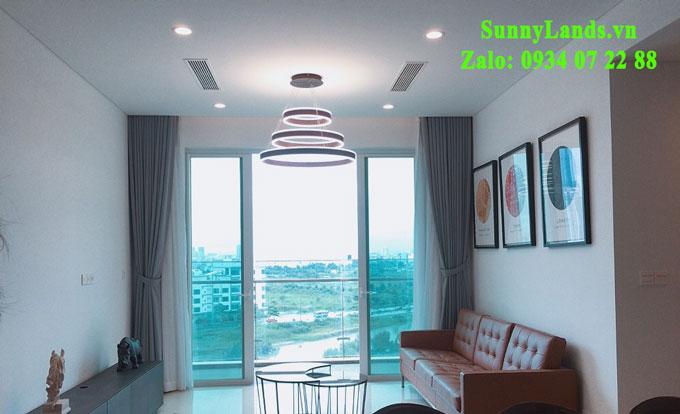 Nội thất phòng khách căn hộ Sala: Sadora Apartment Đại Quang Minh