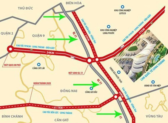Cao tốc Biên Hòa Vũng Tàu